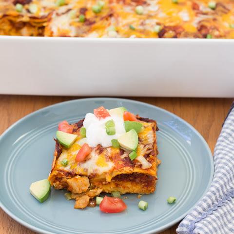 Stacked Chicken Enchiladas Recipes   Yummly