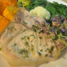 Lemon and Herb Pork Loin Cutlet