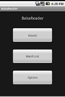 Screenshot of BakaReader