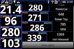 Screenshot of IpWatts