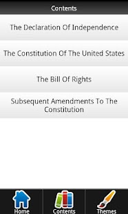 Constitution Bill of Rights - screenshot