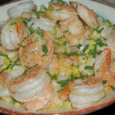 Springtime Shrimp and Grits