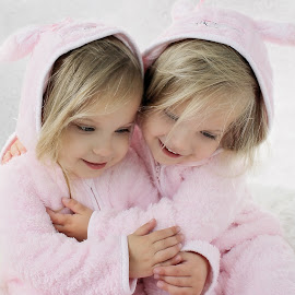 Easter Bunnies cuddle by Lucia STA - Babies & Children Toddlers