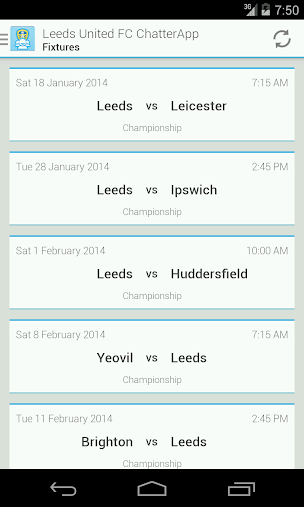 Leeds United FC ChatterApp APK
