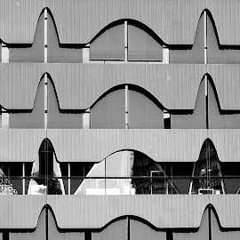 Sinus rhythm by Christine Schmidt - Abstract Patterns ( detail, pattern, architecture, berlin )