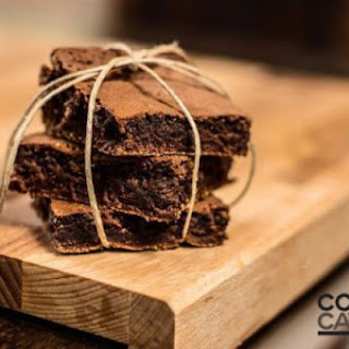 Schoko Marzipan Brownies