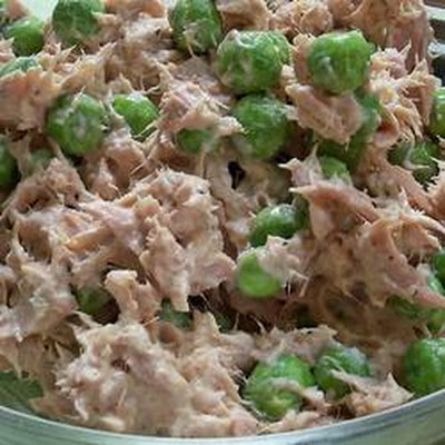 Tuna Fish Pea Salad