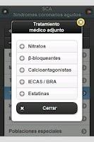 Screenshot of Síndromes Coronarios Agudos
