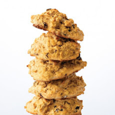 Raisin and Oat Scones