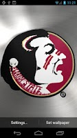 Screenshot of Florida St Seminoles LWP &Tone