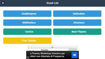 Screenshot of Scout List OFM - OSM & Tactics