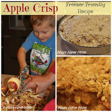 Apple Crisp Freezer Friendly