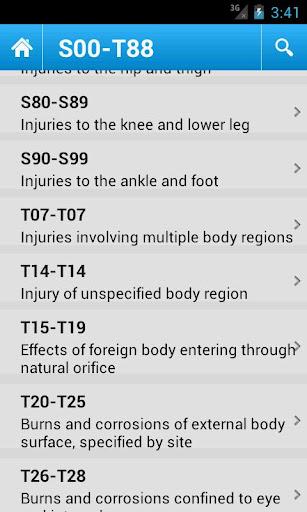 【免費醫療App】ICD 10 Codes 2012 Free-APP點子