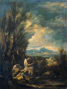 RIJKS: Alessandro Magnasco: painting 1749