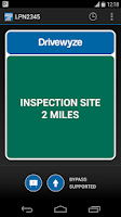 Screenshot of Weigh Station Alerts & Bypass