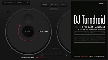 Screenshot of DJTurndroid feat. DESIGNIUM