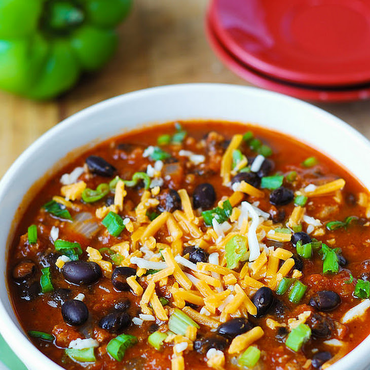 Pumpkin Chili with Beef and Black Beans Recipe | Yummly