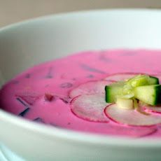Chilled Radish Buttermilk Soup