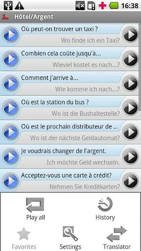 iSayHello 法语 - 德语