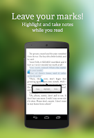 Screenshot of txtr ebooks