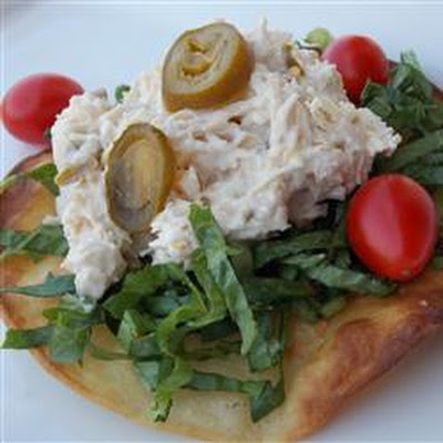 Twisted Chicken Salad with Tostadas