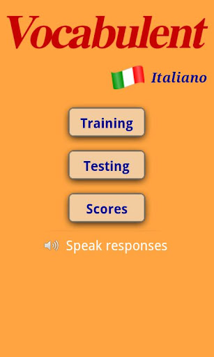 Vocabulent Italiano
