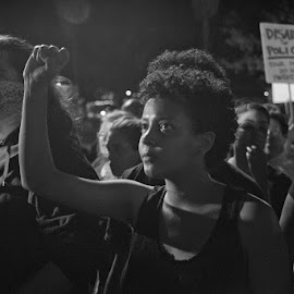 LA Protests Ferguson Decision by Steve Bernard - News & Events US Events ( making a difference, voice, fight, protest, civil unrest )