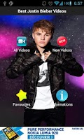 Screenshot of Best Justin Bieber Videos