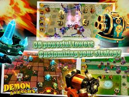 Screenshot of Demon Avengers TD
