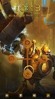 Screenshot of Lock Screen Iron Man