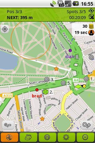 玩免費體育競技APP|下載tourality的GPS尋寶 app不用錢|硬是要APP