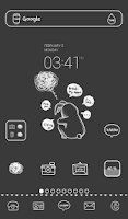 Screenshot of gloomy day dodol theme