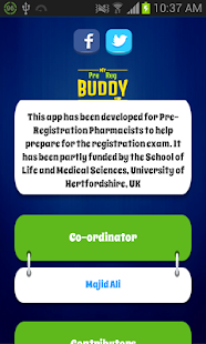 My Pre Reg Buddy - screenshot