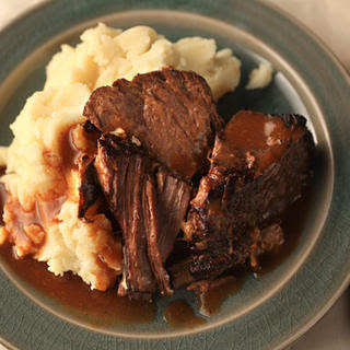 Garlicky Pot Roast