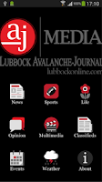 Screenshot of Lubbock Avalanche-Journal