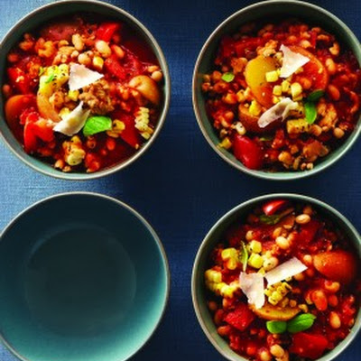 Slow-Cooker Tuscan Turkey Chili