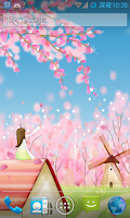 Screenshot of Sakura Live Wallpaper FREE