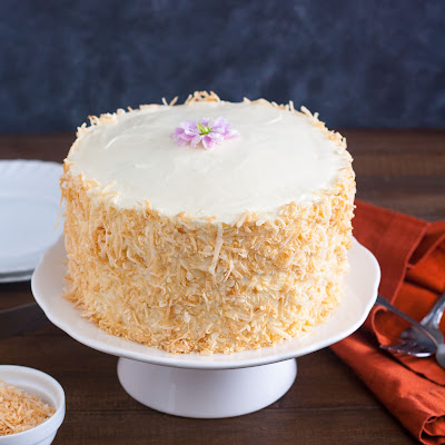 Tropical Carrot Cake with Cream Cheese Frosting