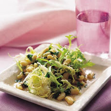 Flageolet Beans and Frisee Salad