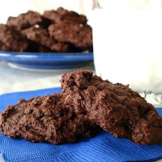 Lower Fat Double Chocolate Chip Cookies (Ww)