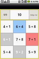 Screenshot of Reverse one-digit addition