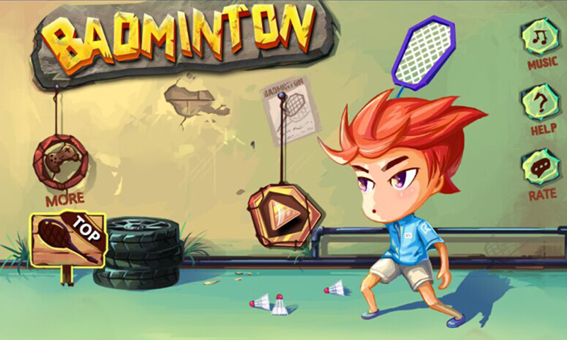 Badminton Star Screenshot 0