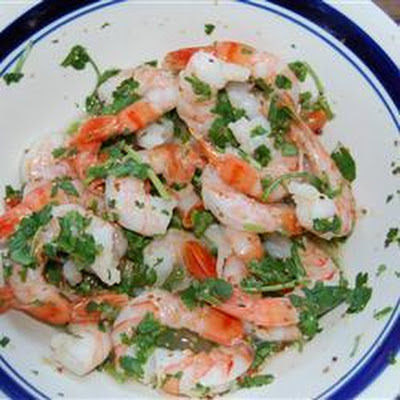 Tequila Marinated Prawns