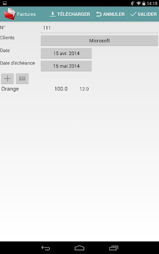 Invoice pro - screenshot