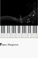 Screenshot of Piano Ringtones