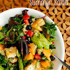 Fruit & Grain Summer Salad