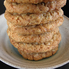Crispy Coconut Cookies