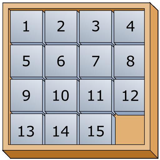 15 Puzzle 解謎 App LOGO-APP開箱王