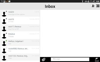 Screenshot of Clear Messenger