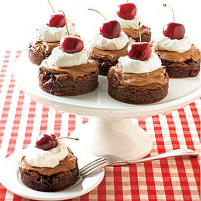 Chocolate Cherry Cakes